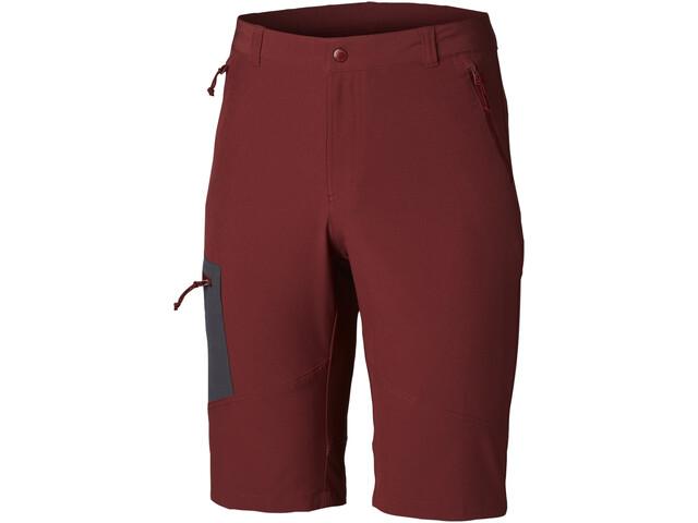 Columbia Triple Canyon Pantaloncini Uomo, rosso